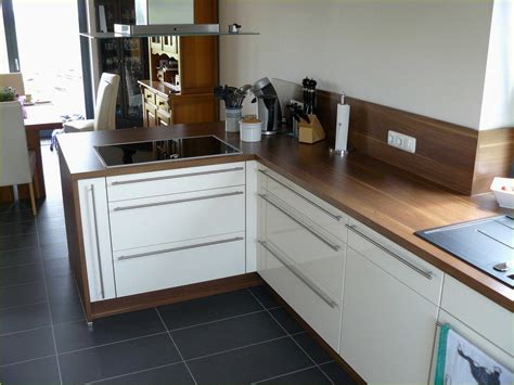Leiste Küchenplatte Arbeitsplatte Küche Holz Possling