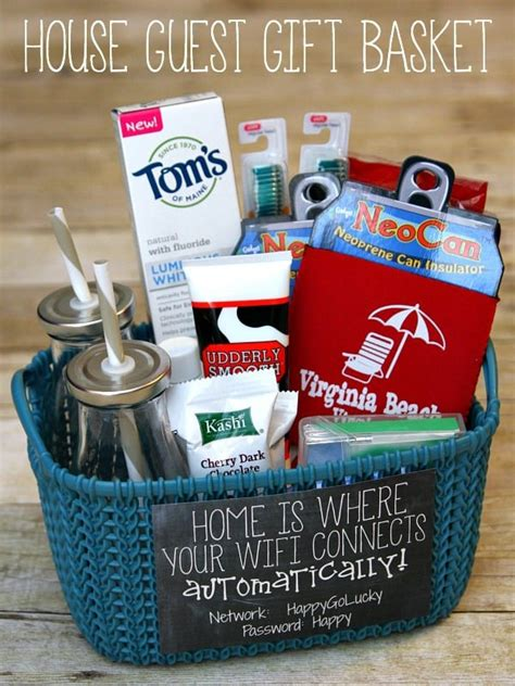 House Guest Gift Basket   Happy Go Lucky