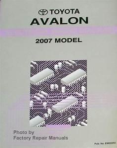 2007 Toyota Avalon Electrical Wiring Diagrams Original