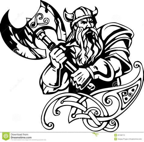 nordischer wikinger vektorabbildung vinyl betriebsbereit vektor abbildung bild 25168113