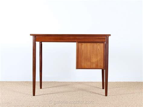 bureau en teck petit bureau scandinave en teck galerie møbler