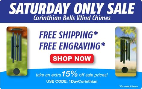 saturday only sale 15 off already on sale corinthian