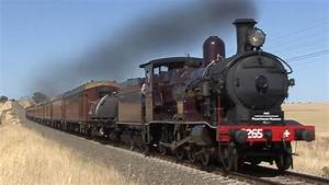 Junee Steam Train Shuttles With 3265