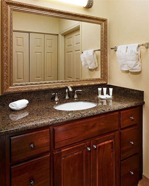 Granite Colors For Bathrooms by Bathroom Vanaties Tropical Brown Granite Bathroom Vanity