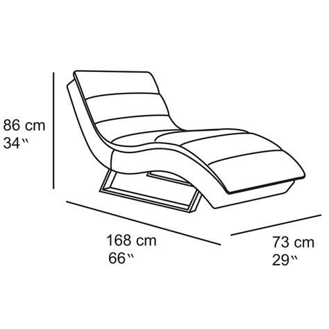 dimension chaise sphinx woven fabric chaise lounge zuri furniture