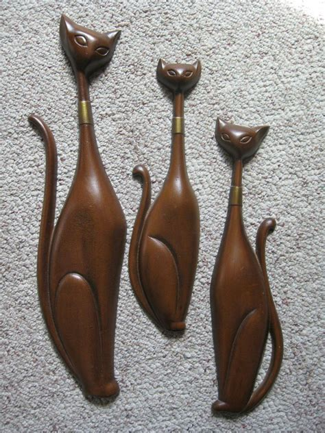 Line your walls with the wall decor 3 piece set. Set of 3 Vintage Mid Century Sexton Wall Hanging Metal ...