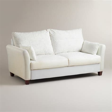 World Market Charcoal Luxe Sofa by X