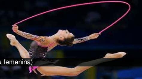 gimnasia artistica  gimnasia ritmica elementos