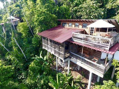Belize Tree Houses At Ian Anderson's Caves Branch