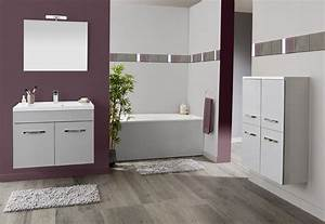 peinture noir et blanc chambre With meuble salle de bain gris perle