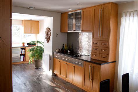 cuisine interieur design décoration petit séjour moderne