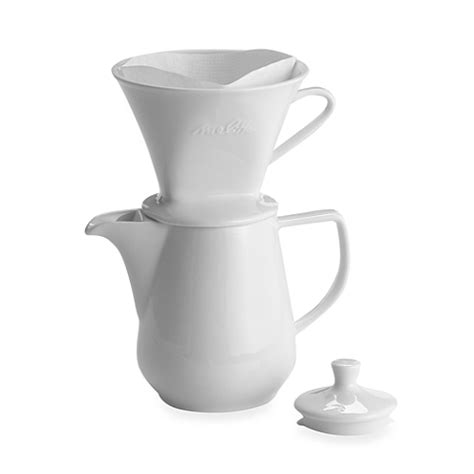 Free shipping on orders over $25 shipped by amazon. Melitta® Pour Over 6-Cup Porcelain Coffee Maker   Pour over coffee maker, Pour over coffee ...