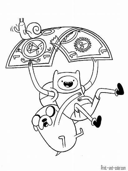 Adventure Coloring Pages Cartoons
