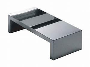 Table Basse Miroir : table basse small inox miroir l 68 x h 20 cm zeus ~ Melissatoandfro.com Idées de Décoration