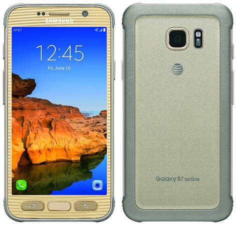 samsung galaxy s7 active leaked in mega gaudy gold color