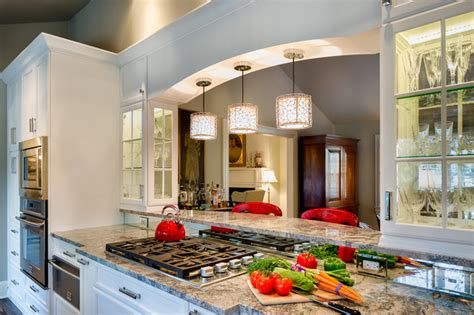 ranch remodel traditional kitchen charlotte