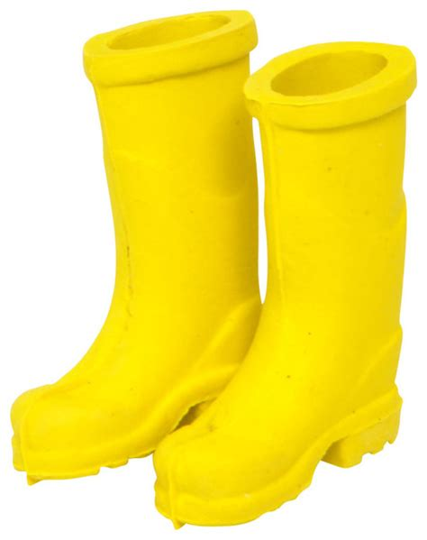 shop houzz made in miniature garden yellow rubber boots decorative