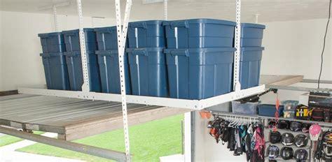 Garage Overhead Storage   Monkey Bar Storage