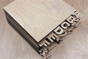 laser cut wooden vinyl record dividers set of 26 letters With laser cut vinyl lettering