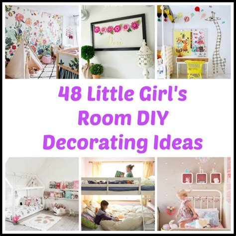 diy decorating ideas    girls room