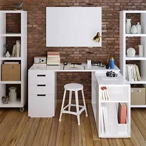 Bureau Ado Fille : bureau ado fille bureau avec rangement en hauteur ~ Melissatoandfro.com Idées de Décoration