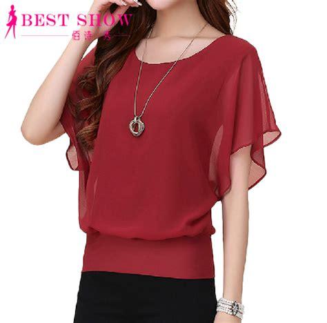 womens plus blouses buy wholesale chiffon blouse from china chiffon
