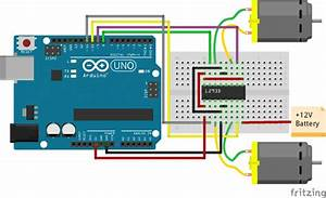 L293d Motor Driver Circuit Diagram Arduino