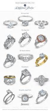style engagement rings engagement ring styles for every by wedding inspirasi simon g
