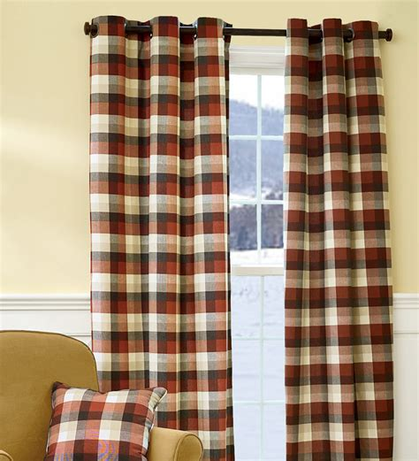 buffalo check curtains furniture ideas deltaangelgroup