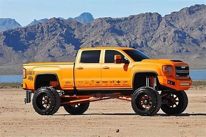Gmc Trucks Sierra Denali Orange 2500 Lifted