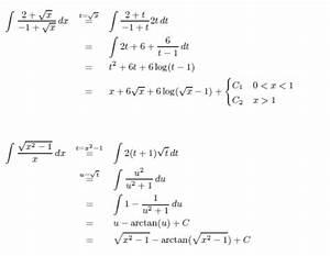Matlab Integral Berechnen : integralrechnung br che mit wurzeln wie hat man hier weitergerechnet mathelounge ~ Themetempest.com Abrechnung