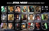 Which Star Wars Character are You by Xionice on DeviantArt