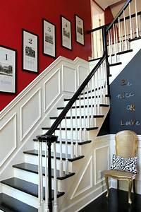 Décoration D Escalier Intérieur : d co entr e maison cage d 39 escalier et couloir en 32 id es home sweet home d co entr e ~ Nature-et-papiers.com Idées de Décoration