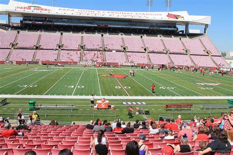 cardinal stadium section  rateyourseatscom