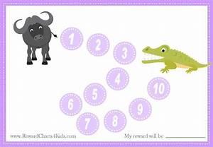 Weekly Reward Chart Animal Reward Charts