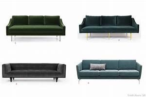 Canapé Velours Ikea : des canap s tout en velours ~ Teatrodelosmanantiales.com Idées de Décoration