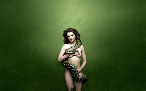 Rachel Weisz With Snake From Planck S Constant
