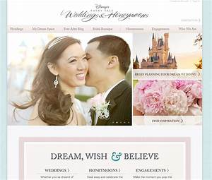 the new and improved disney39s fairy tale weddings website With best wedding inspiration websites