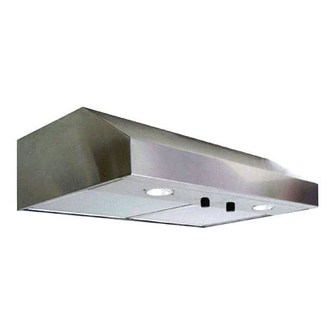 range hoods ultra series low profile range in stainless steel 425 cfm motor by storch