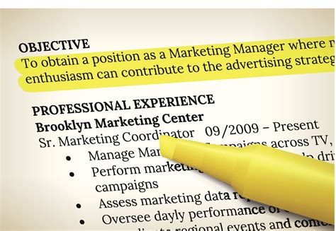 resume objective exles and writing tips