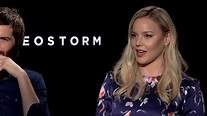 Geostorm Interview With the Cast - YouTube