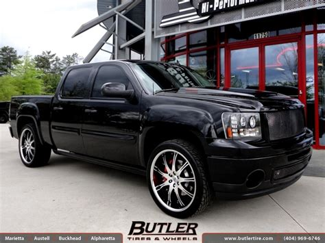 gmc sierra denali   lexani lx wheels exclusively