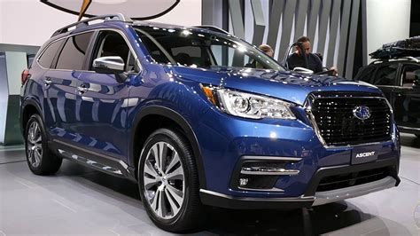 subaru ascent  los angeles auto show youtube