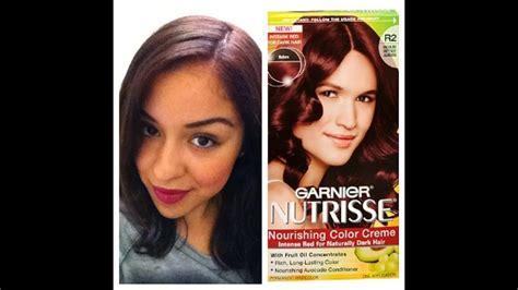 Garnier Nutrisse Ultra Hair Dye Review!