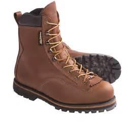 """Wolverine NORTHMAN 8"""" Mens Brown W02709 Waterproof Work Boots"""