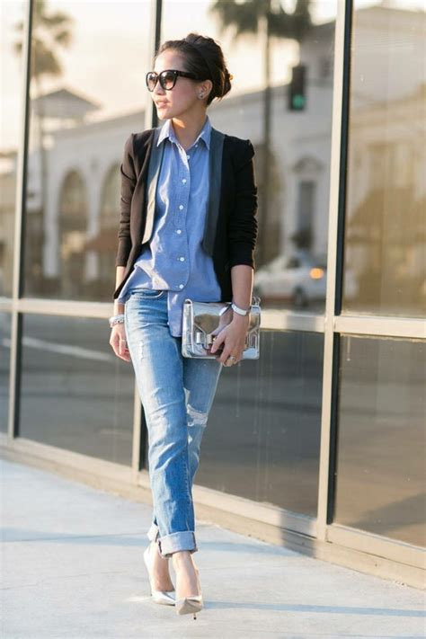 1001 id 233 es avec quoi porter une chemise en jean
