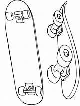 Coloring Skateboarding Skateboard Printable Mycoloring Ausmalbilder Ausdrucken Malvorlagen Kostenlos Zum sketch template
