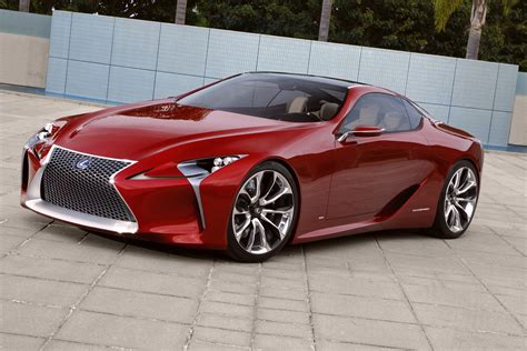Lf Lc Sport Coupe Concept Big Hit In Detroit