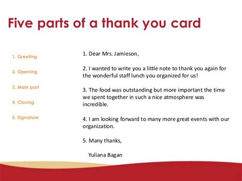 how to write a thank you note how to write a thank you card