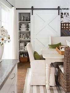 5 minute break 7 delightful homes to inspire the With barn doors for dining room